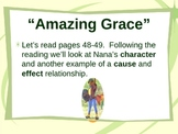 """Amazing Grace"" Cause and Effect - Treasures Reading Series"