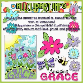 Amazing Grace Clip Art - Cheryl Seslar Clip Art