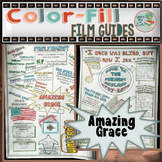 Amazing Grace Color-Fill Film Guide Doodle Notes