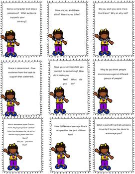 Amazing Grace Higher Level Task Cards