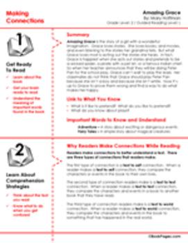 Amazing Grace Lesson Plans & Activities Package, Second Grade (CCSS)