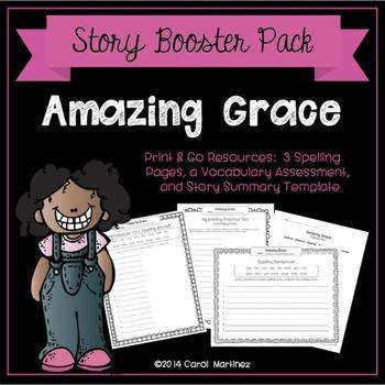 Amazing Grace Assessment Worksheets Teachers Pay Teachers