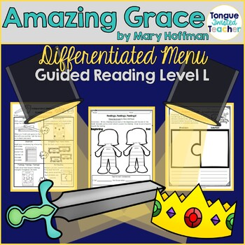 Amazing Grace by Mary Hoffman, Differentiated Reader's Response Menu