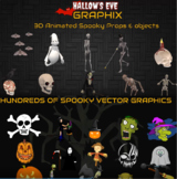 Amazing Halloween: 900+ Spooktastic Graphics and Videos (Commercial Use)
