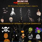 Amazing Halloween: 900+ Spooktastic Graphics and Videos (C