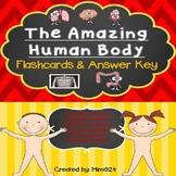 Amazing Human Body Flashcards/Game & Answer Key