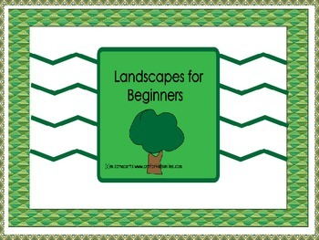 Amazing Landscapes a drawing and painting project for beginners