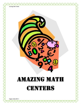 Ready-To-Use Math Centers - Median,Mode,Mean,Range, Even-Odd, Money, and More
