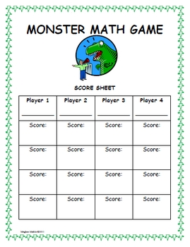 Amazing Math Centers - Monster Math! (Median, Mean, Mode, and Range)