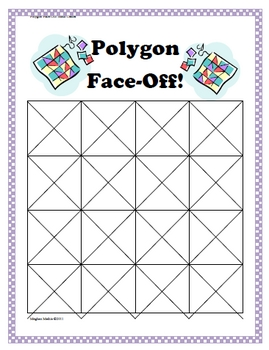 Amazing Math Centers - Polygon Face-Off!