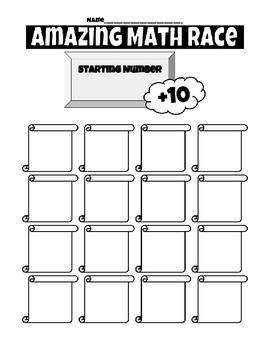 Amazing Math Race 2.NBT.8