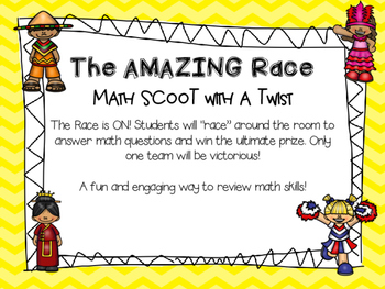 Amazing Math Race: SCOOT With a Twist