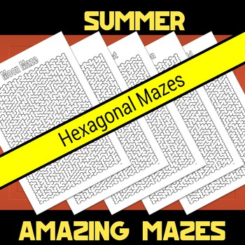 Summer Amazing Mazes