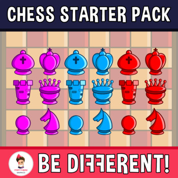 Amazing Medieval Chess Clipart