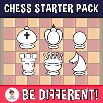 Chess Clipart (Starter Pack)