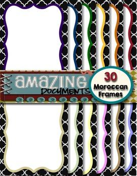 Amazing Moroccan Frames - Free