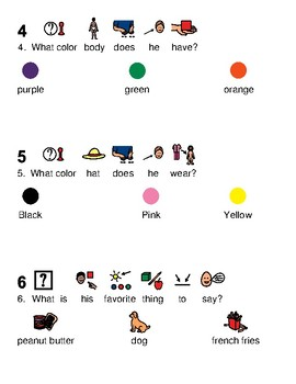 Amazing Mumford - Sesame Street character picture supported text article lesson