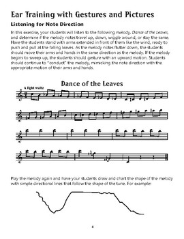 Amazing Music Activities: Listening Exercises - Music Movement and Comparisons