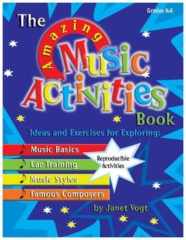 Amazing Music Activities: Treble Clef Notes