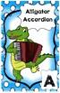 Amazing Alphabet Musical Animal Posters: Large (11 x 17) P