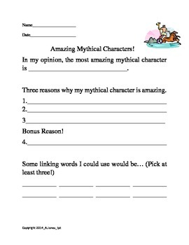 Amazing Mythical Characters!