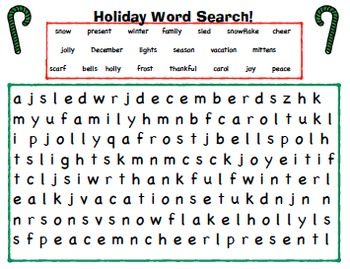 Amazing No-Prep Winter Activity and Holiday Activities Packet!