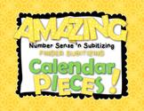 Amazing Number Sense and Subitizing Calendar Pieces--Finger Subitizing Set