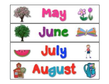 Amazing Number Sense and Subitizing Calendar Pieces--Shape Sides Count Set