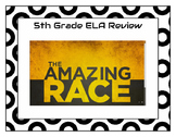 Amazing Race 5th Grade ELA Language Arts Review Game