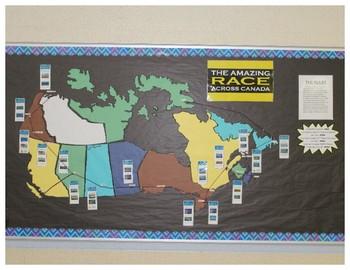 Amazing Race Across Canada Reading Challenge