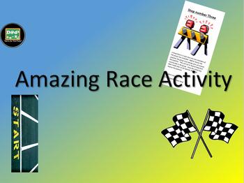 Amazing Race Activity Template