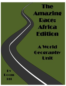 Amazing Race Bundle: Lesson Plans for World Geography