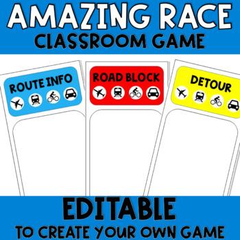 Amazing race templates teaching resources teachers pay teachers amazing race create your own maxwellsz