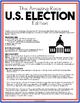 Amazing Race: Election (Election lesson plan, Cross Curriculum, Social Studies)