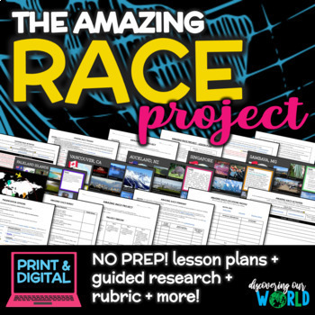 Amazing Race Project {End of the Year Activity}