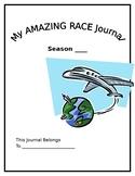 Generic Amazing Race Writing Journal