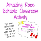 Amazing Race Review Activity (Measurement posters included)