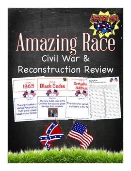 Amazing Race Review: Civil War & Reconstruction