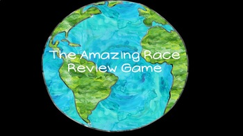 Amazing Race Review Game: Any Content!