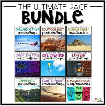 BUNDLE Amazing Race: School Edition