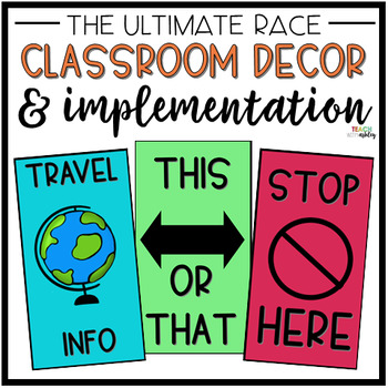 Amazing Race School Edition: Decor & How to Get Started