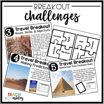 Ultimate Race Reading Skills Travel Breakout