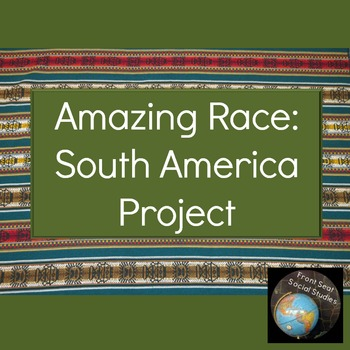 Amazing Race South America Project