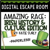 St. Patrick's Day DIGITAL Escape Room: Irish History Amazing Race Breakout