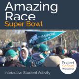 Amazing Race: Super Bowl (Super Bowl Activity, Fitness Act