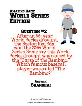 Amazing Race: World Series Edition