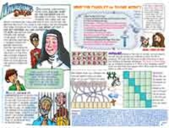 Amazing Saints - April - Divine Mercy Sunday - Blessed Mar