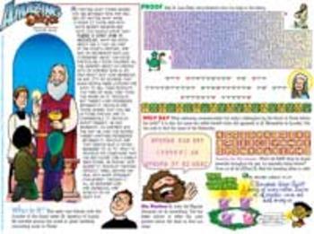 Amazing Saints Activity Page - December - St. Nicholas