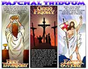 Amazing Saints Activity Page for Easter Triduum