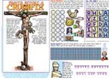 Amazing Saints Activity Page - Lent - Ash Wednesday, Palm Sunday, Easter